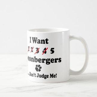 Leonbergerのおもしろいなマグ コーヒーマグカップ