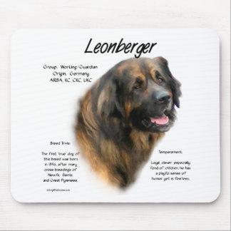 Leonbergerの歴史のデザイン マウスパッド
