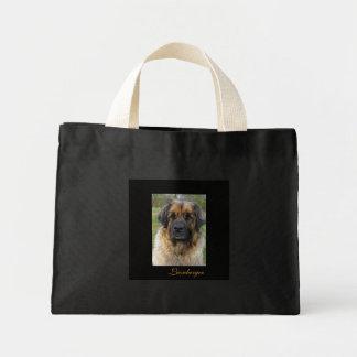 Leonberger犬のトートバック、美しい写真、ギフト ミニトートバッグ
