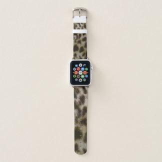 Leopard Fur Watch Band Apple Watchバンド