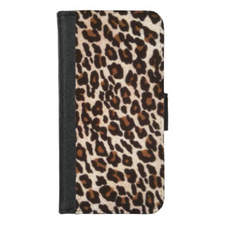 Leopard Print Wild iPhone 8/7 ウォレットケース