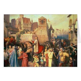 Leopold公爵は見事のウィーンに入ります グリーティングカード