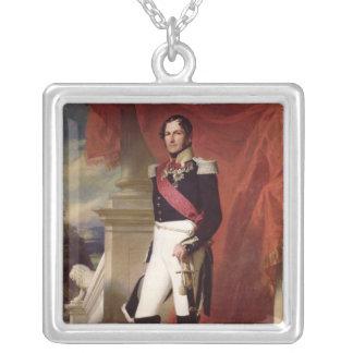 Leopold I 1840年 シルバープレートネックレス