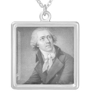 Leopold Kozeluch シルバープレートネックレス
