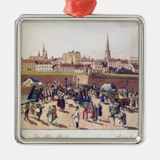 Leopoldstadt、ウィーン1780年の橋 メタルオーナメント