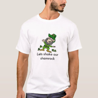 leperconは、振動を私達のシャムロック可能にします tシャツ