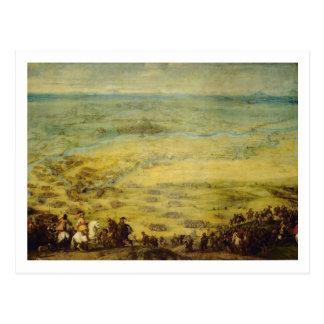 Leridaの要塞のレリーフ、浮き彫り ポストカード