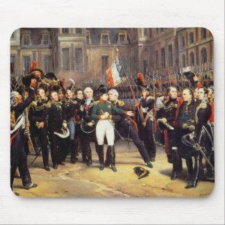 Les Adieux deフォンテンブロー、1814年4月20日 マウスパッド