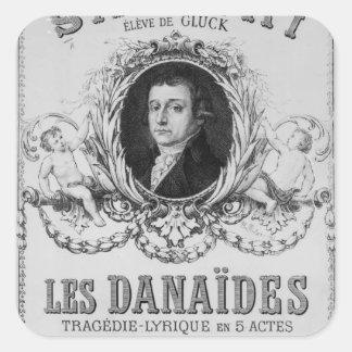 「Les Danaidesのための広告 スクエアシール