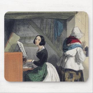 「Les Femmes deからの音楽学校の生徒、 マウスパッド