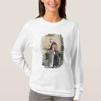 「Les Femmes deパリからの掃除婦、 Tシャツ