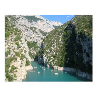 Les gorges du Verdon - ポストカード