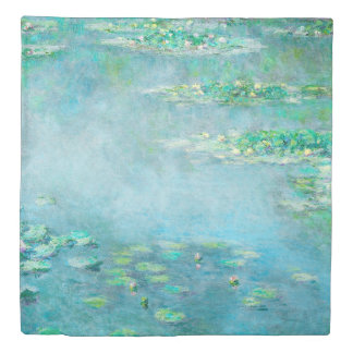 Les Nympheas Water Lilies Monet Fine Art 掛け布団カバー
