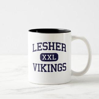 Lesher -バイキング-後輩- Fort Collinsコロラド州 ツートーンマグカップ