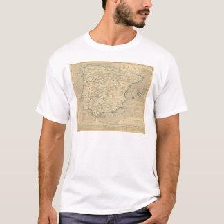 L'Espagneのsous les Romains 409のansのapres JC Tシャツ
