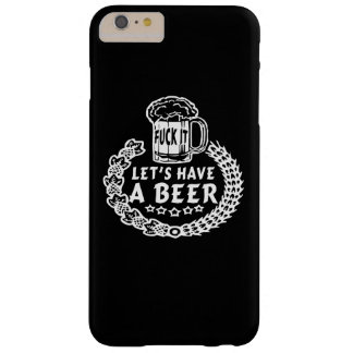 LETビールがあります BARELY THERE iPhone 6 PLUS ケース