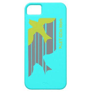 LETGOdworkの速い鳥のiPhone 5の場合の明るい青 iPhone SE/5/5s ケース