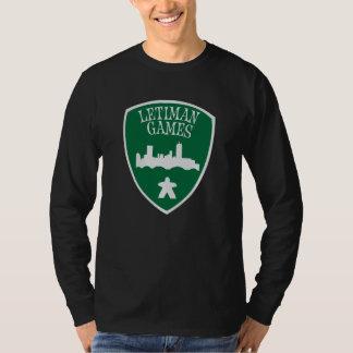 Letimanのゲームの長袖のTシャツ Tシャツ