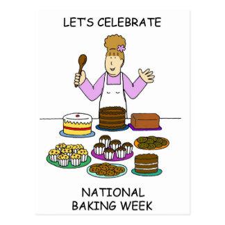 Let's Celebrate National Baking Week ポストカード