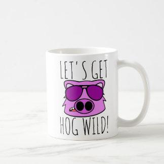 Let's Get Hog Wild コーヒーマグカップ