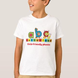 Letterland |の子供のTシャツ Tシャツ
