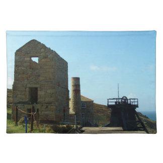 Levant鉱山コーンウォールイギリス ランチョンマット