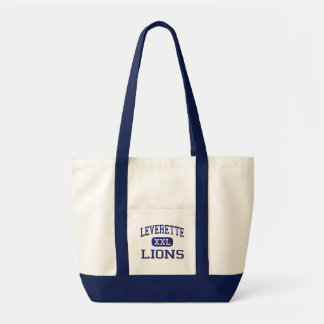 Leverette -ライオン-後輩-トレドオハイオ州 トートバッグ