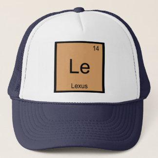 Lexus一流化学要素の周期表 キャップ