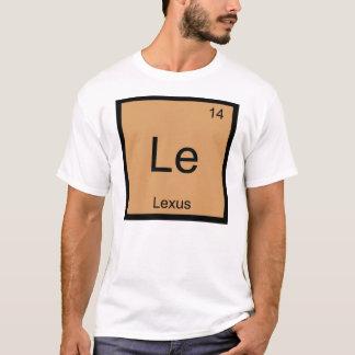 Lexus一流化学要素の周期表 Tシャツ