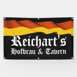 LGのドイツの旗の居酒屋、バー、人の洞窟の旗 横断幕