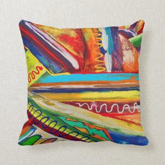 LG Cundiff数々のな色の抽象芸術によるデザイン クッション
