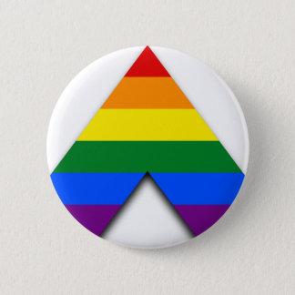 LGBTのまっすぐな同盟国ボタン 5.7CM 丸型バッジ