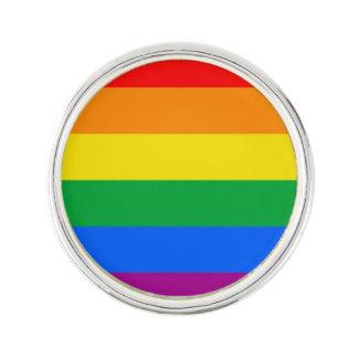 LGBTのプライドの旗/虹の旗 ラペルピン