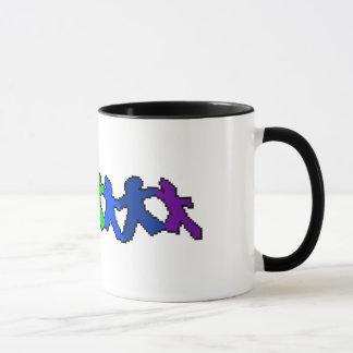 LGBTのプライドの紙の人形のマグ マグカップ