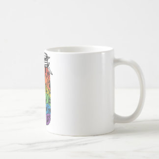 LGBTの平等のワイシャツのラベルは瓶のためです コーヒーマグカップ