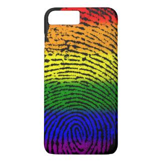 LGBTの指紋 iPhone 8 PLUS/7 PLUSケース