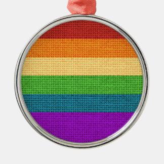 LGBTの虹のプライドの休日のオーナメント メタルオーナメント