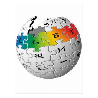LGBTのWiki世界 ポストカード