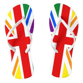 LGBTイギリス ビーチサンダル