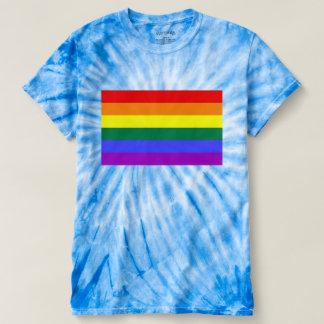 LGBTゲイプライドの虹の旗 Tシャツ