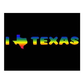 LGBTテキサス州のプライド ポストカード