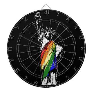 LGBTニューヨーク ダーツボード