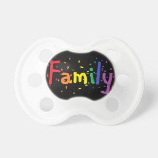 LGBT家族のロゴ おしゃぶり