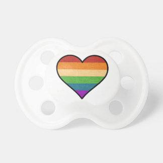 LGBT愛は愛虹のハートです おしゃぶり