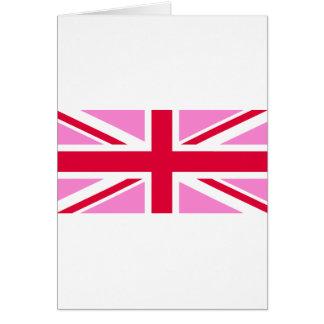 LGBT Gay Pride Rainbow Flag of the United Kingdom カード