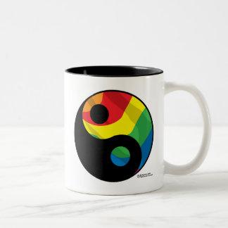 LGBT Yingヤン ツートーンマグカップ