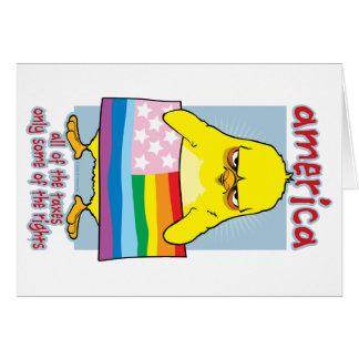 LGBTQアメリカ カード