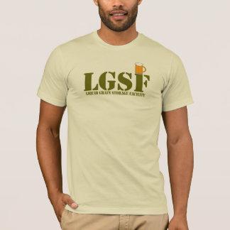 LGSF -液体の穀物の貯蔵設備 Tシャツ