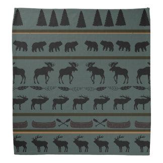 LHによる小屋毛布のデザイン バンダナ
