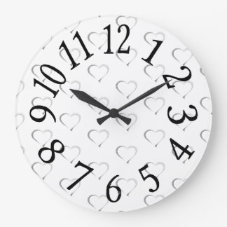 LHによる心の琴線の時計 ラージ壁時計